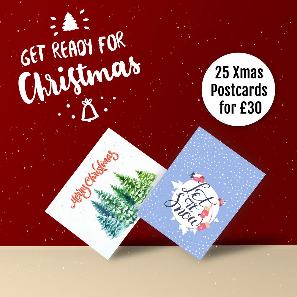 Christmas Postcards.Christmas Cards